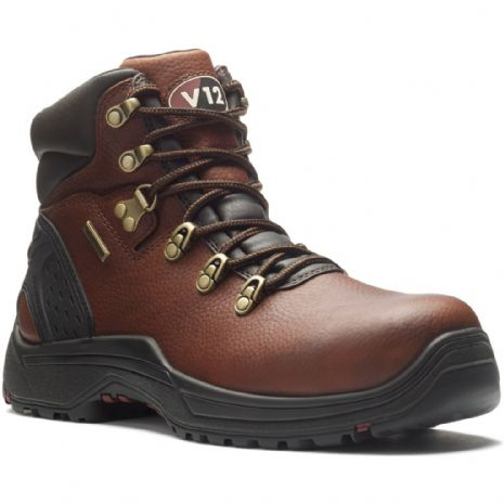V1219.01 STORM IGS BROWN PULL-UP WATERPROOF HIKER